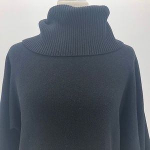 Laundry By Shelli Segal Sweaters - Laundry by Shelli Segal Black Cowlneck Sweater